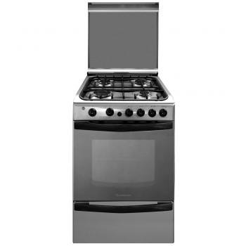 COCINA A GAS ARISTON CG54SG1H X INOXIDABLE 55CM