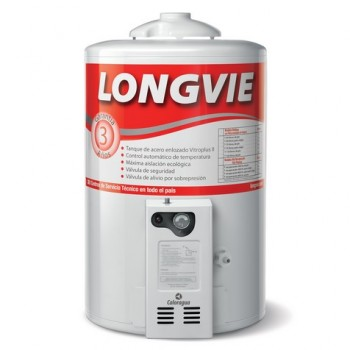 TERMOTANQUE GAS LONGVIE T3050PF DE PIE 50LTS