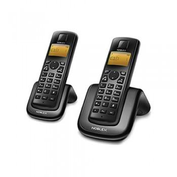 TELEFONO INALAMBRICO NOBLEX NDT2000 TWIN MANOS LIBRES CALLER ID