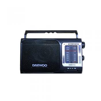 RADIO PORTATIL DAEWOO DMR113 AM/FM ANTENA TELESCOPICA AUXILIAR