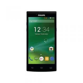 Telefono Celular Philips S398b Negro Quad Core Android 4.4