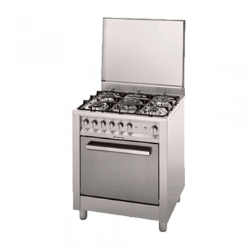 COCINA A GAS ARISTON CP770SG1 INOXIDABLE GRILL ELECTRICO