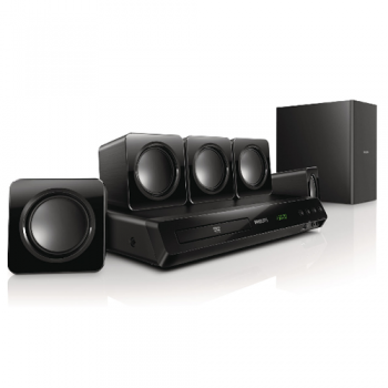 SISTEMA DE SONIDO HOME THEATER PHILIPS HTD3511/77 DVD 5.1 FM