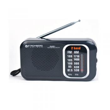 RADIO ANALOGICA PORTATIL STROMBERG RA2011 AM FM ANTENA TELESCOPICA