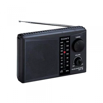 RADIO PORTATIL SONY ICF18BC AM FM TRANSPORTABLE