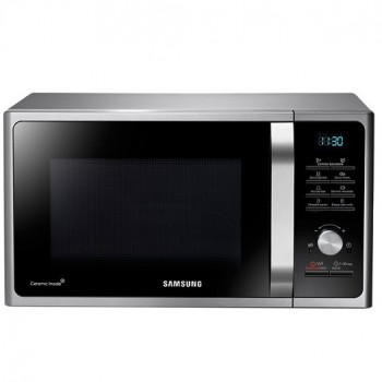HORNO MICROONDAS SAMSUNG MG23F3K3T 23L SILVER 1200W ECO MODE