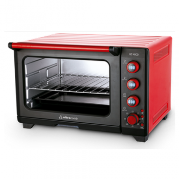 Horno Grill Electrico Ultracomb Uc40cd 1600w 40lts temporizador digital