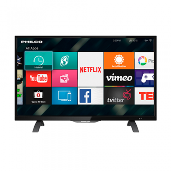 LED TV 32 SMART HD PHILCO PLD3226HI WIFI NETFLIX