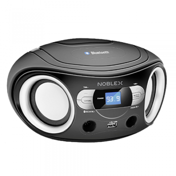 REPRODUCTOR NOBLEX CBT959X 150W RADIO AM/FM USB MP3 AUX IN