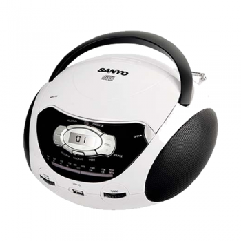 REPRODUCTOR CD SANYO MDX1705 USB MP3 150W AM/FM