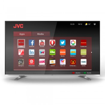 SMART TV LED JVC HD 32 LT32DA770 HDMI USB WIFI NETFLIX