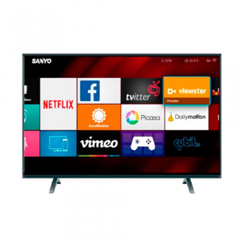 Smart Led Tv Full Hd Sanyo Lce40if26 Hdmi Usb Netflix Wifi