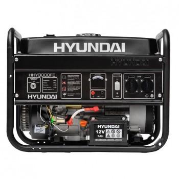 GRUPO ELECTROGENO GENERADOR HYUNDAI HHY3000FE 3.3 KVA