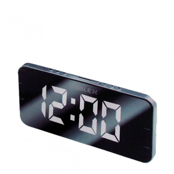 RADIO RELOJ DESPERTADOR NOBLEX RJ980PLL AM/FM SLEEP SNOOZE