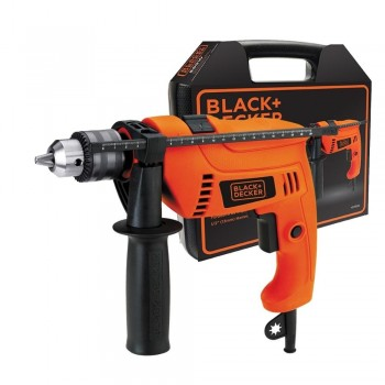 Taladro Percutor Black & Decker Hd555k CON Maletin