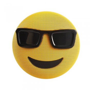 PARLANTE SPEAKER BLUETOOTH JAMOJI COOL RECARGABLE EMOJIS