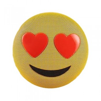 PARLANTE SPEAKER BLUETOOTH JAMOJI LOVE STRUCK EMOJIS