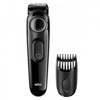 AFEITADORA TRIMMER CORTA BARBA BRAUN BT3020 RECARGABLE