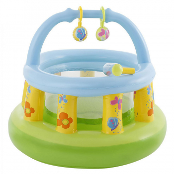 CORRALITO DIDACTICO BEBE FIRST GYM INFLABLE INTEX