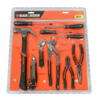 Set De 10 Piezas Black & Decker Hdt 51910