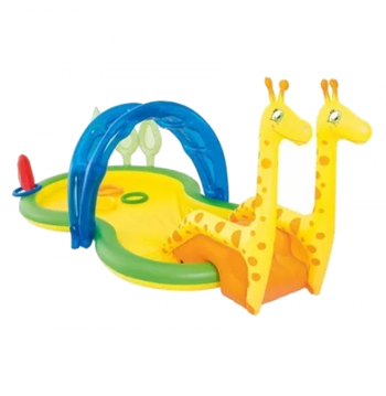 PILETA INFLABLE INFANTIL ZOOLOGICO BESTWAY 53060