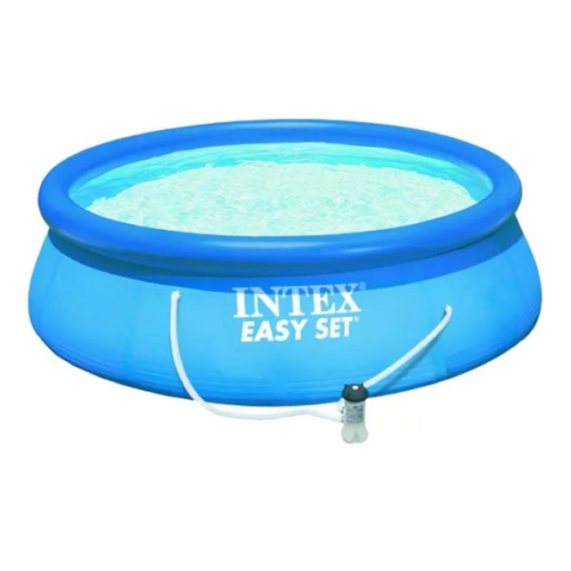 Pileta inflable easy set intex bomba filtrante 5621l 366x76 for Piletas inflables intex precios