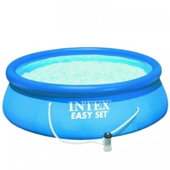PILETA INTEX EASY SET 56412AG 4.57X0.91 CON BOMBA