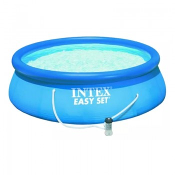 PILETA INFLABLE EASY SET INTEX BOMBA FILTRANTE 5621L 366X76