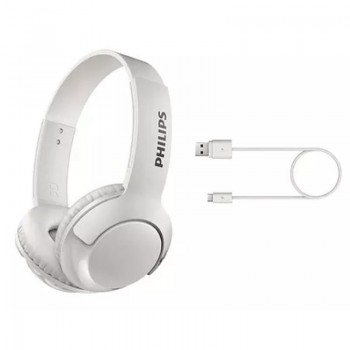 Auricular Vincha Bluetooth Philips Shb3075 Blanco