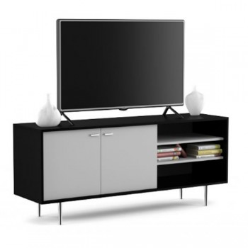 Mesa De Tv-audio Centro Estant Erh140f Blanco Fresno
