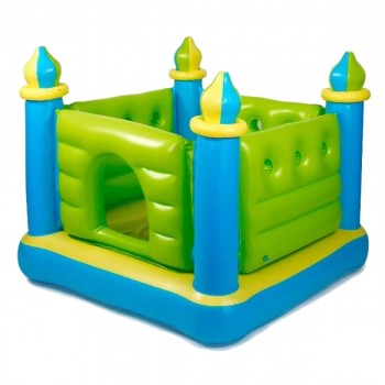 Castillo Inflable Saltarin Intex Para Interiores 132 X 132cm