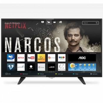 SMART TV LED 50 AOC LE50S5970/28 FULL HD NETFLIX YOUTUBE