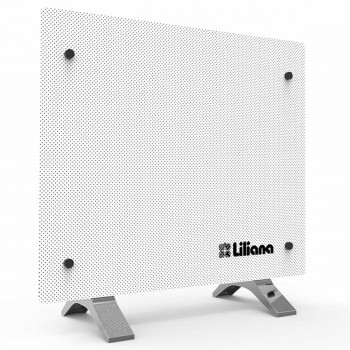 Turbocalefactor Panel Vidrio Pie Pared Liliana Ppv200 1200w