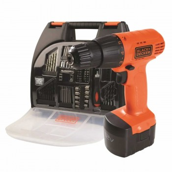 Taladro Inalambrico Black Decker Cd121k100 12v + Maletin