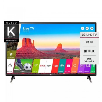 Smart Tv Lg 43 Uk6300 4k Bluetooth Ultra Hd