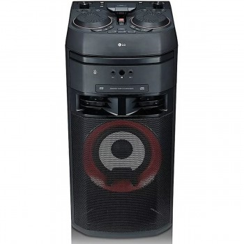 MINICOMPONENTE TORRE LG OK55 XBOOM DE 500W RMS BLUETOOTH DJ KARAOKE MP3,WMA, CD-R/CD-RW MP3,WMA, INCLUYE CONTROL REMOTO