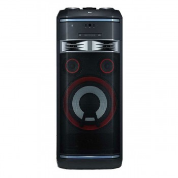 Minicomponente Torre Lg Ok99 Xboom De 1800w Rms Bluetooth Dj Karaoke Mp3,wma, Cd-r/cd-rw Mp3 Wma Multi Color Party Light