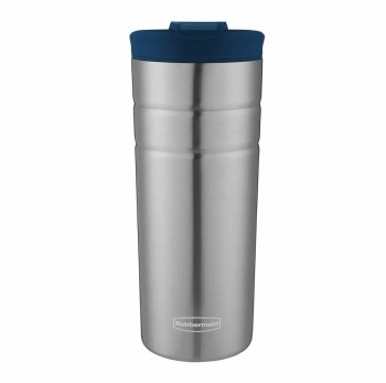 Vaso Termico Rubbermaid Flip Lid Azul nautical Acero Inoxidable 473ml