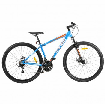 Bicicleta Mountain Bike Wings Gm18 Celeste Rodado 29