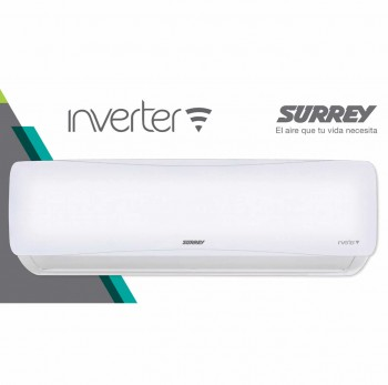 AIRE ACONDICIONADO SPLIT INVERTER FRÍO CALOR SURREY 6400W