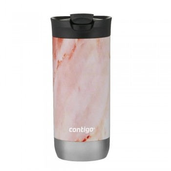 VASO TERMICO CONTIGO HURON COUTURE ROSE QUARTZ 473ML