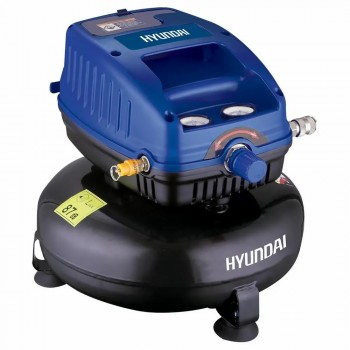 Mini Compresor Hyundai Hyac12 12l 1.3hp 250w