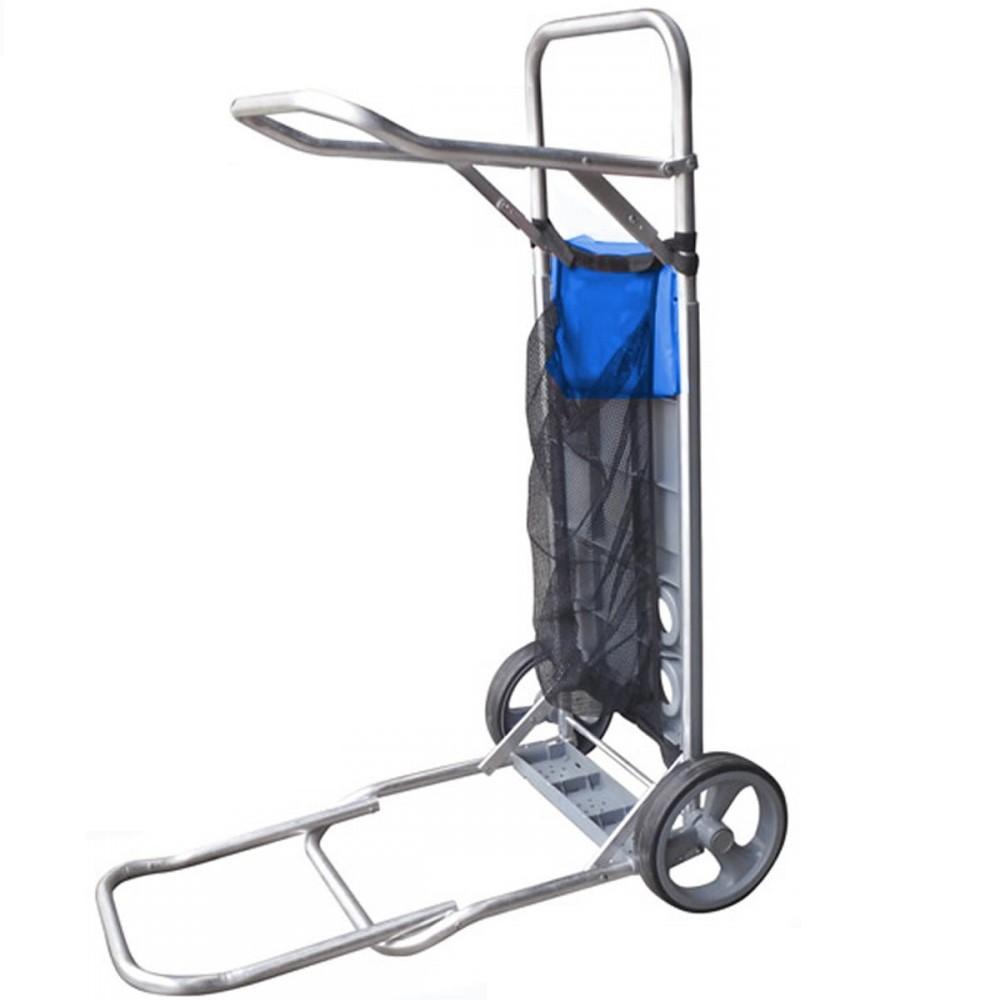 Carrito Para Playa De Aluminio Portatil Plegable Tio Musa
