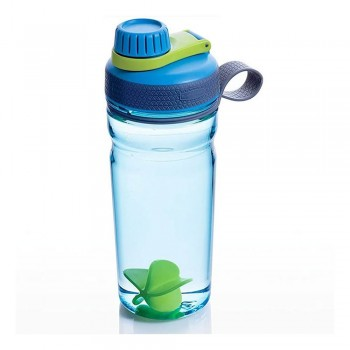 Botella Rubbermaid Shaker 600ml Azul Verde