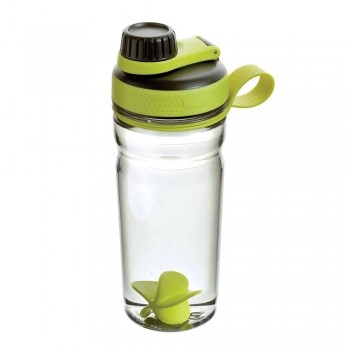 Botella Rubbermaid Shaker 600ml Fucsia Verde