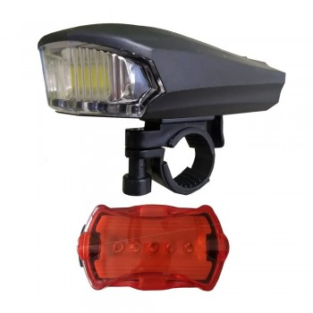 Luz Led Doble Para Bicicleta Tm Sh-a08
