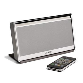 Parlante Bose Soundlink Wireless con cubierta protectora de nailon negra